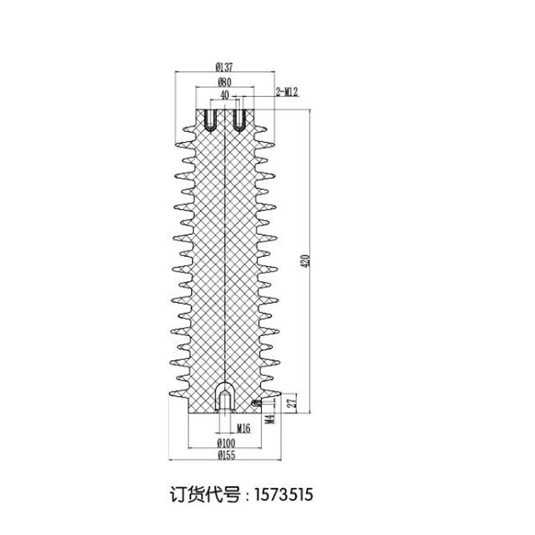 Sensor SSR-35J 155mm*480mm 35KV  from JUCRO Electric